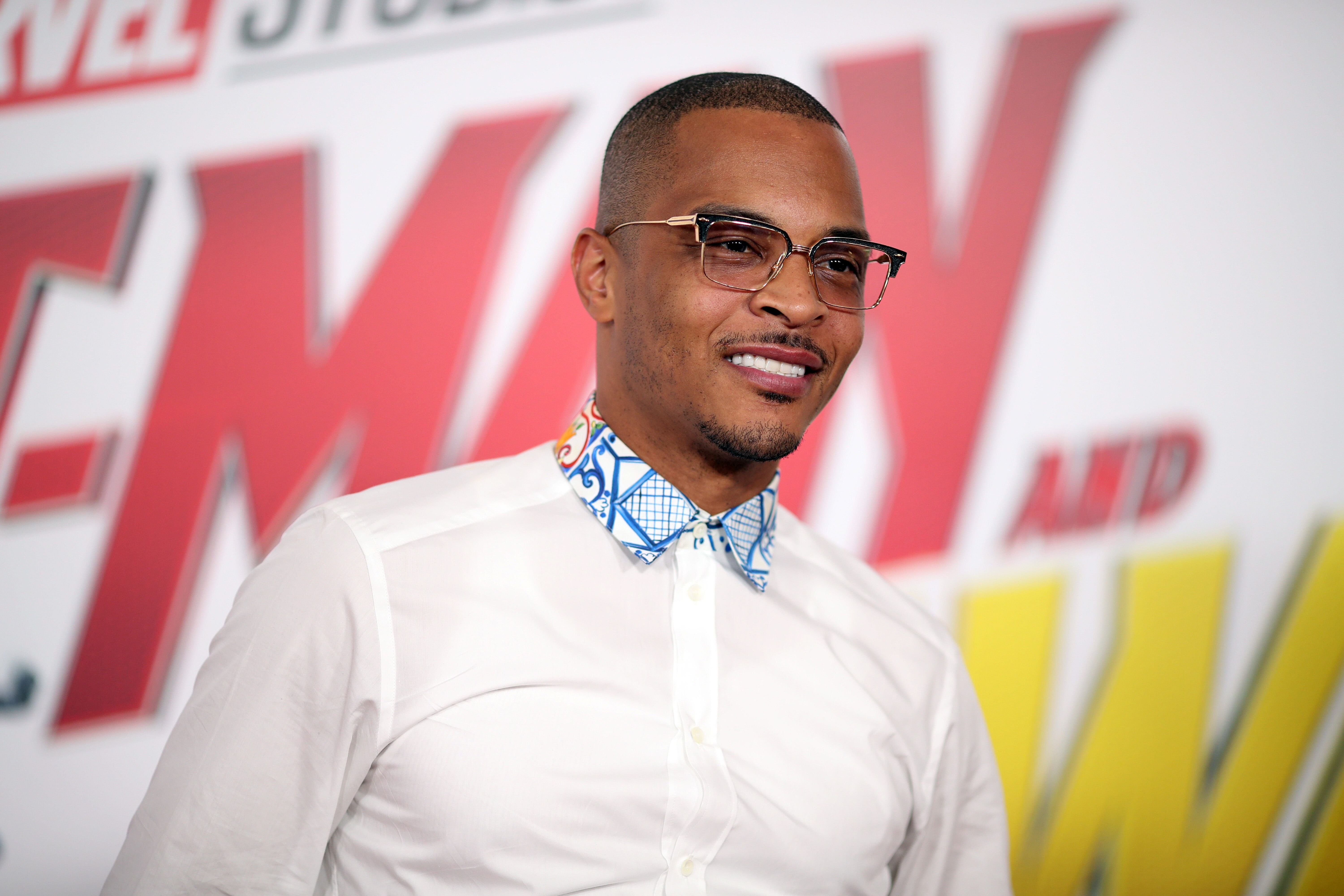 "T.I. at Marvel's ""Antman and the Wasp"" movie premiere 