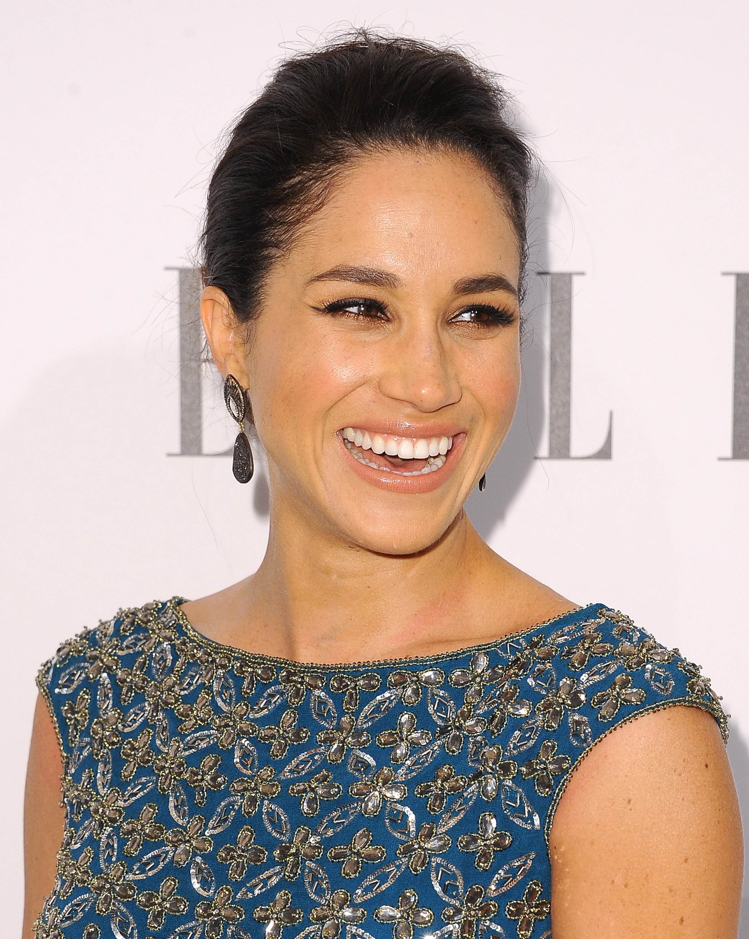 "The ""Suits"" star Meghan Markle attend the ELLE's Annual Women on Television Celebration in 2014. 