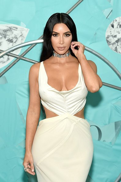 Kim Kardashian West at Tiffany & Co. in New York City. | Photo: Getty Images