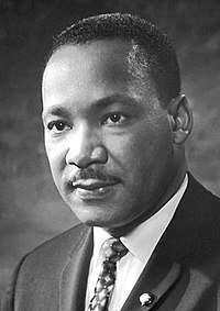 Martin Luther King Jr/ Source: Wikimedia