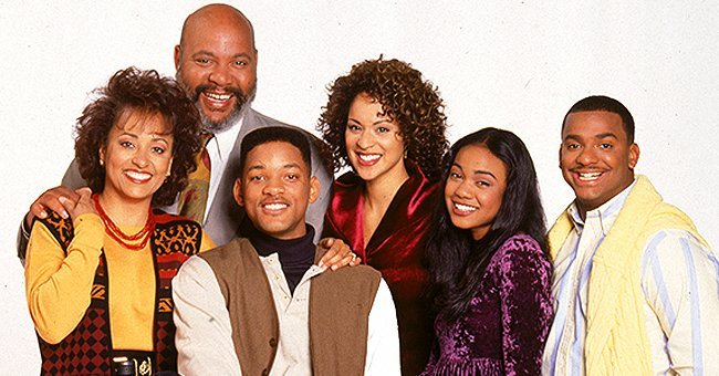 "Cast of the popular '90s show, ""The Fresh Prince of Bel-Air"" 