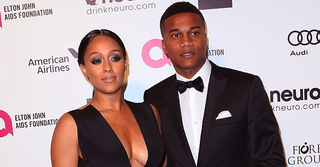 Tia Mowry and Husband Cory Hardrict Look Chic during Oscar Party in a Throwback Photo