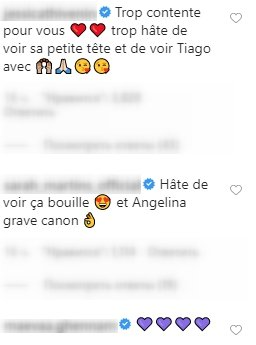 Commentaires des fans de Manon Marsault. | Photo : Instagram/manontanti
