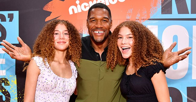 Michael Strahan's Twin Daughters Isabella & Sophia Look All Grown up in New Photos