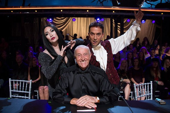 """Len Goodman on set of """"Dancing With The Stars"""" 