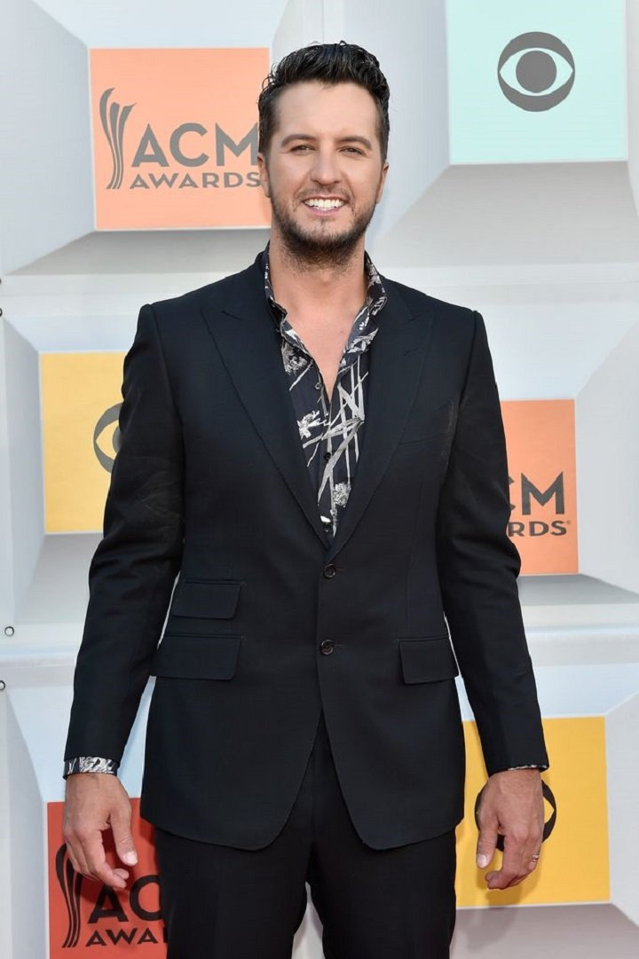 Luke Bryan attending the 51st Academy of Country Music Awards in Las Vegas, Nevada,  in April 2016. | Image: Getty Images.