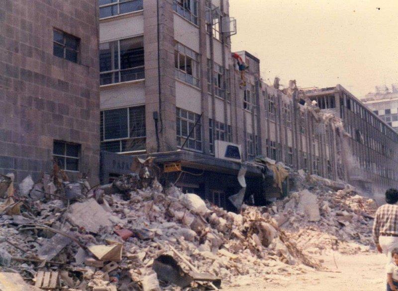 En la Ciudad de México se registró un terremoto de 8.1 grados en 1985.| Fuente: Wikimedia Commons