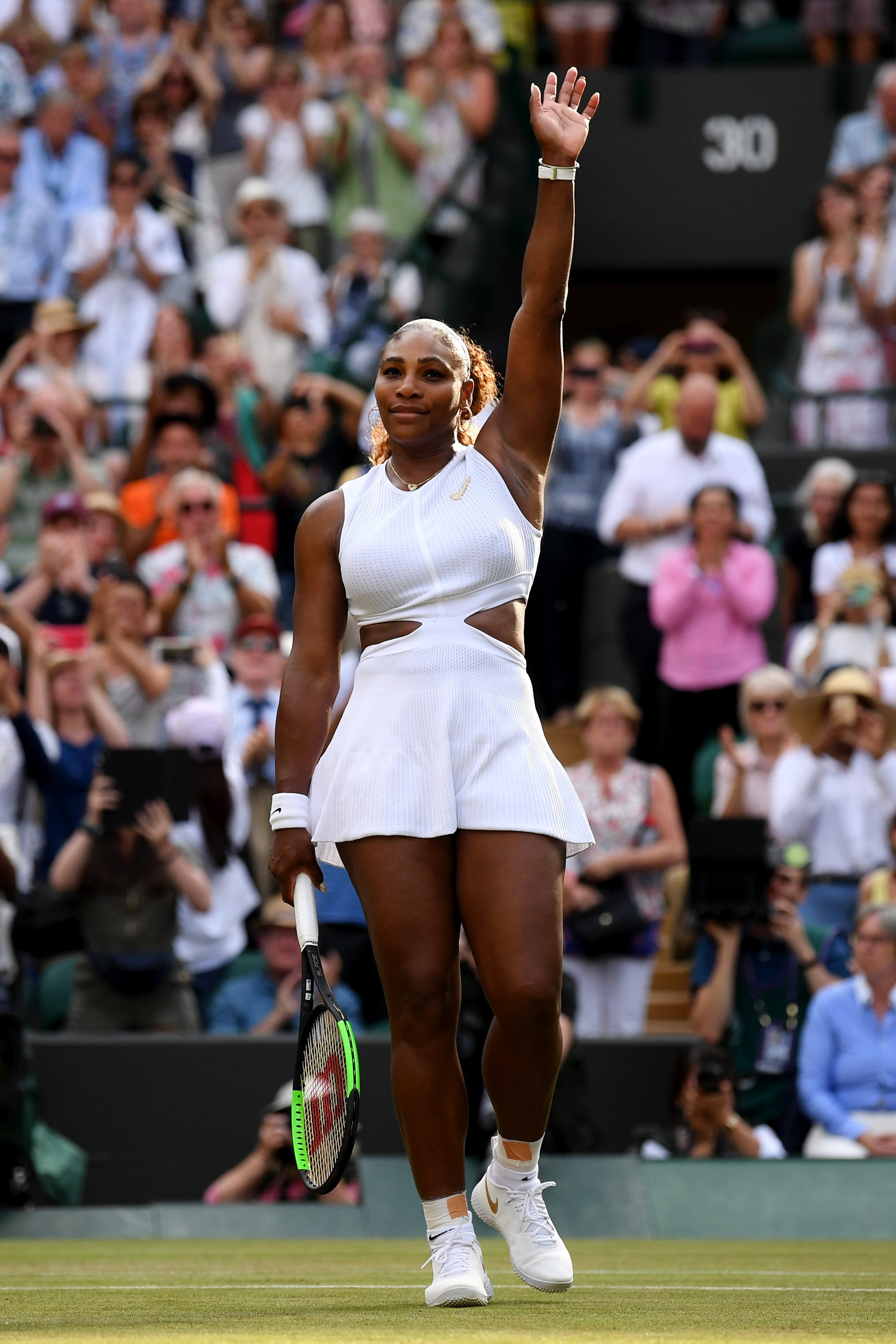 Serena Williams at Wimbledon 2019 on July 11, 2019 in London, England. |Photo: Getty Images