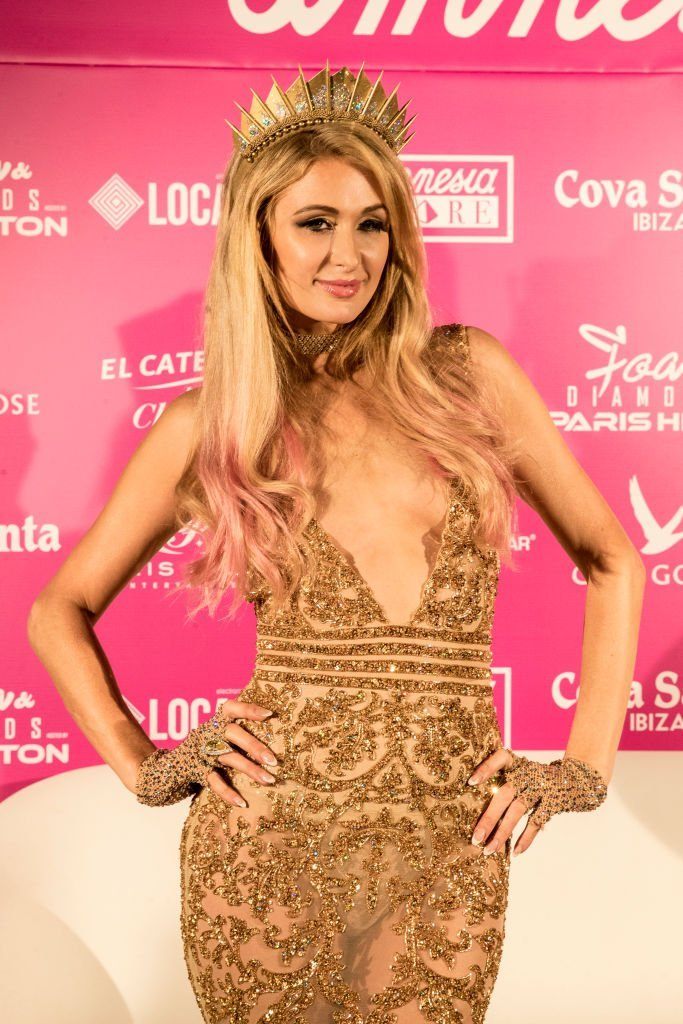 """Paris Hilton attends the """"Foam & Diamonds"""" opening sessions special 5th Year Anniversary in Ibiza, Spain on July 2, 2017 