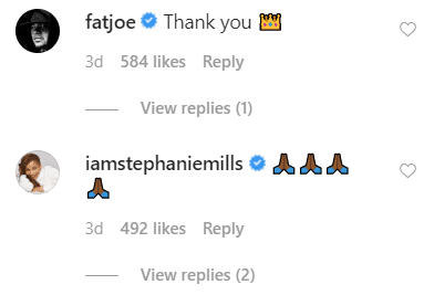 Celebrities' comments on Snoop Dogg's post. | Source: Instagram/snoopdogg