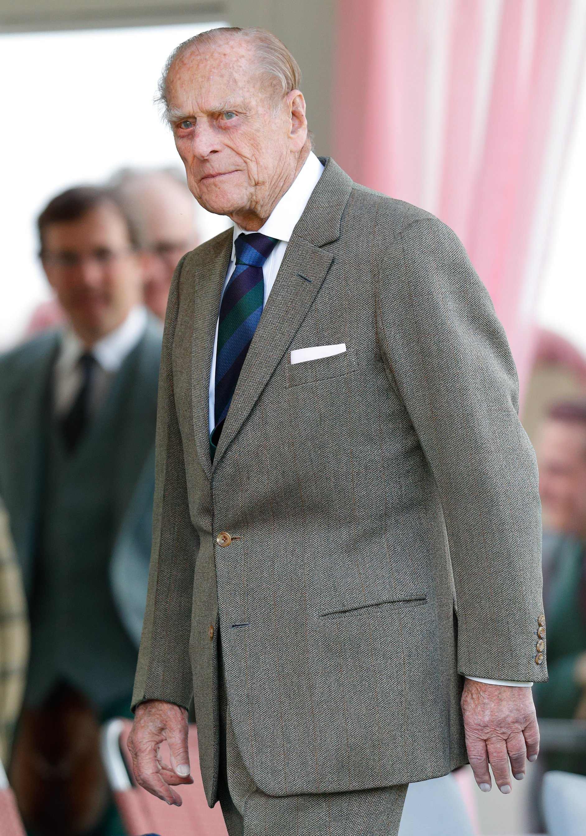 Prince Philip pictured at the 2017 Braemar Gathering at The Princess Royal and Duke of Fife Memorial Park, 2017, Scotland. | Photo: Getty Images