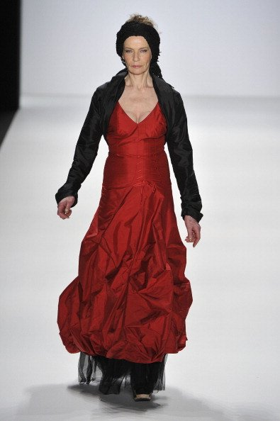 Veruschka von Lehndorff, Anja Gockel Show - Mercedes-Benz Fashion Week Berlin Autumn/Winter 2012 | Quelle: Getty Images