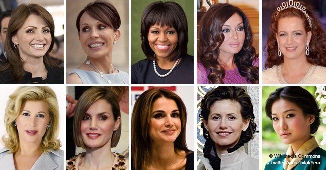 TOP 10 des premières dames du monde entier considérées comme les plus belles