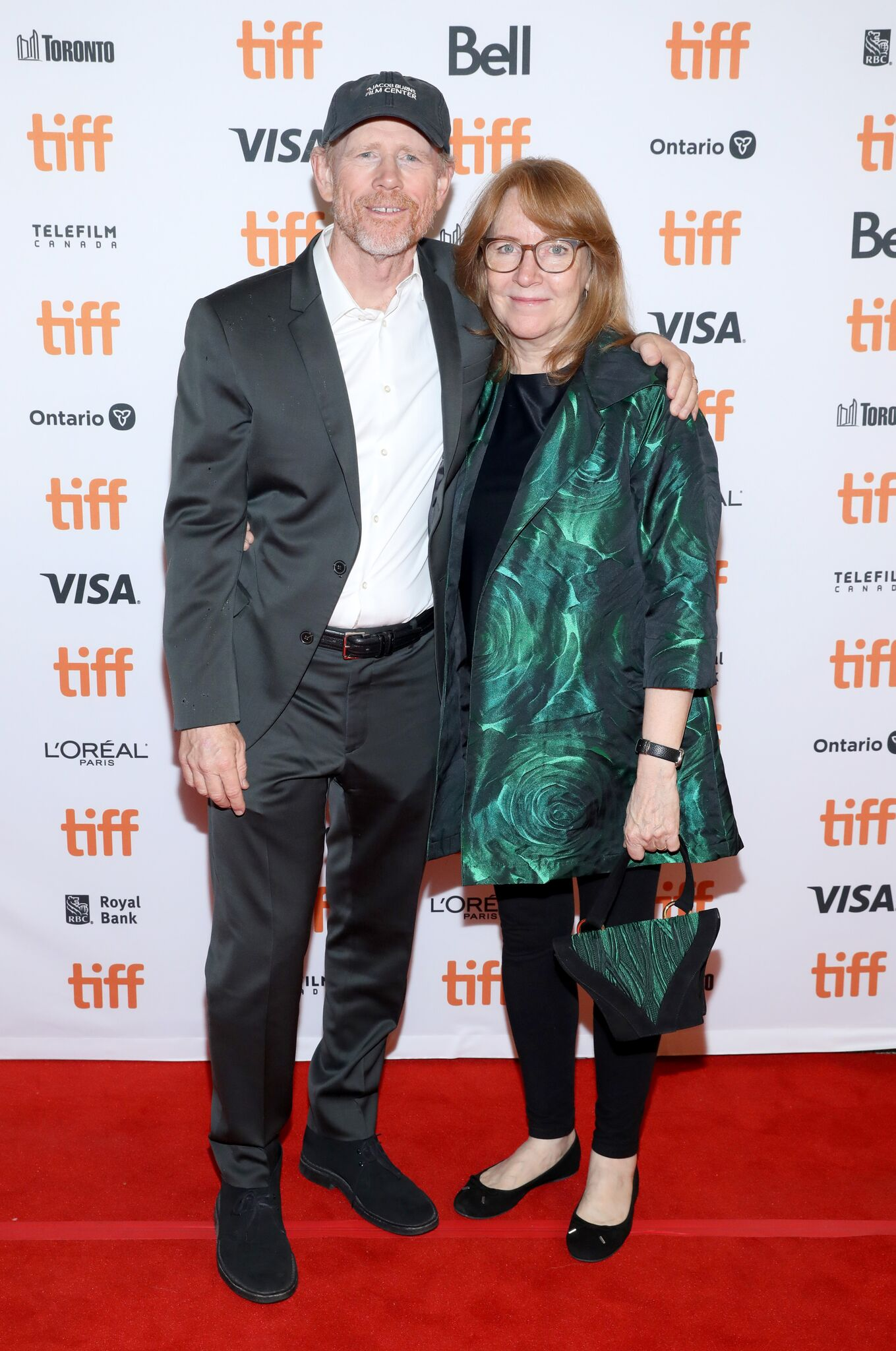 """Ron Howard and Meredith Kaulfers attends the """"Dads"""" premiere during the 2019 Toronto International Film Festival 