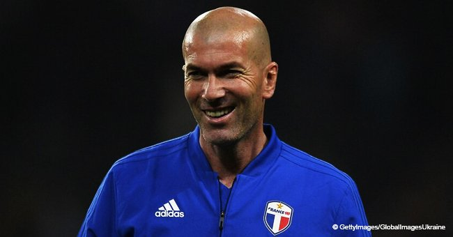 """Zinédine Zidane en jean super skinny : son look """"branché"""" provoque la discorde chez les fans"""