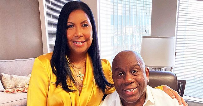 Magic Johnson and His Wife Cookie Look Classy as They Beam in a New Photo