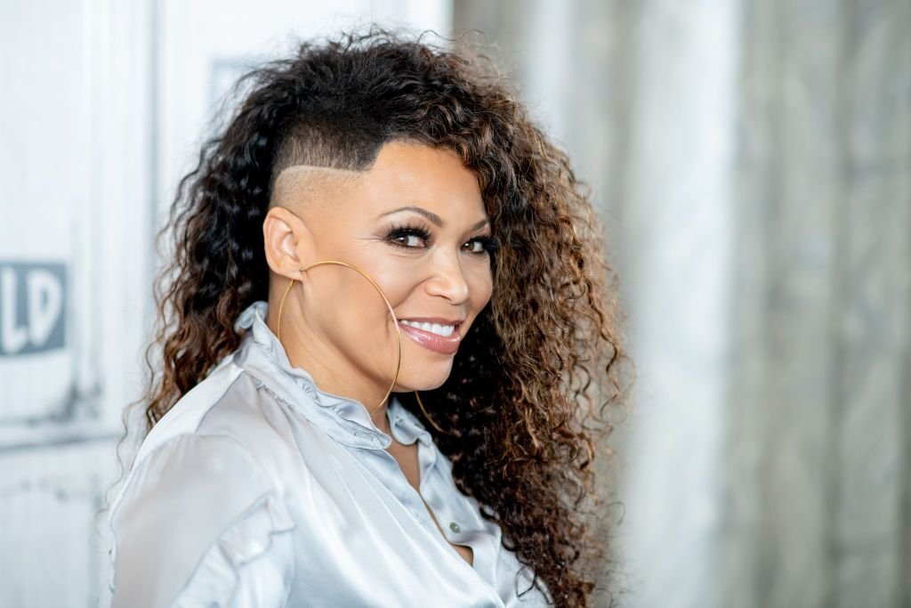 A portrait of Tisha Campbell at a Build event | Source: Getty Images/GlobalImagesUkraine