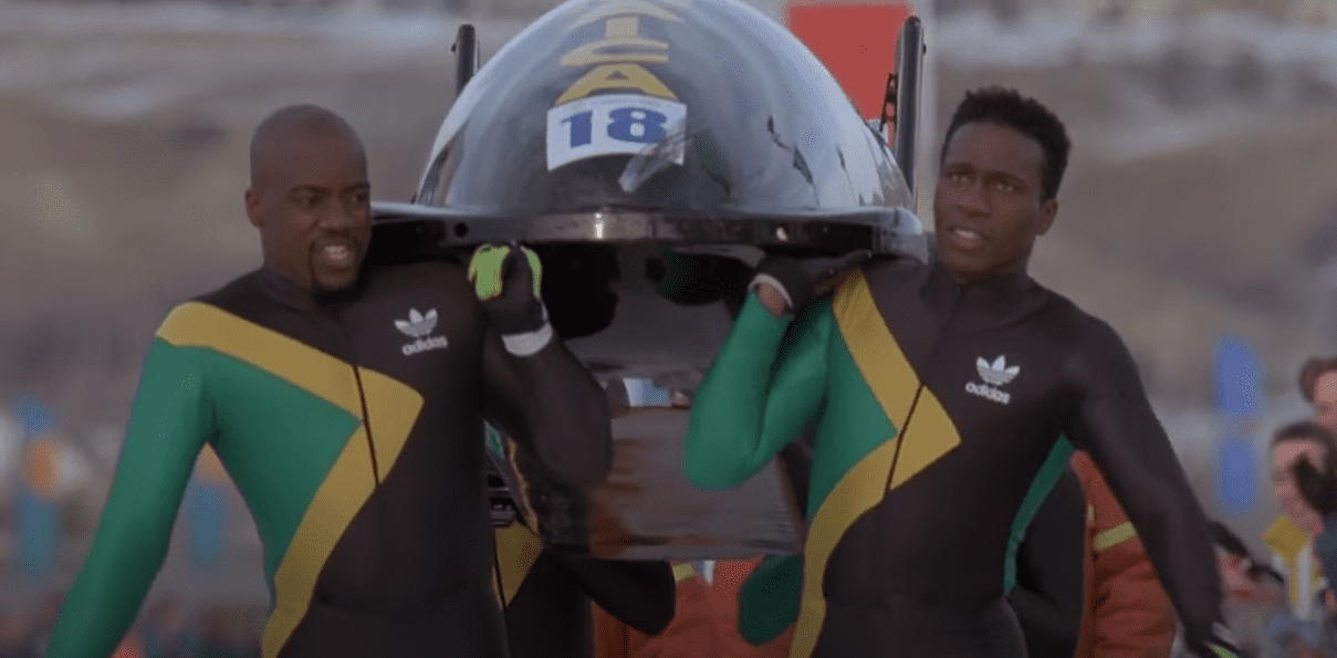 """A screenshot of a scene from """"Cool Runnings"""" featuring Malik Yoba as Yul Brenner   Photo: Youtube/Sunflowerboy_xd 74"""