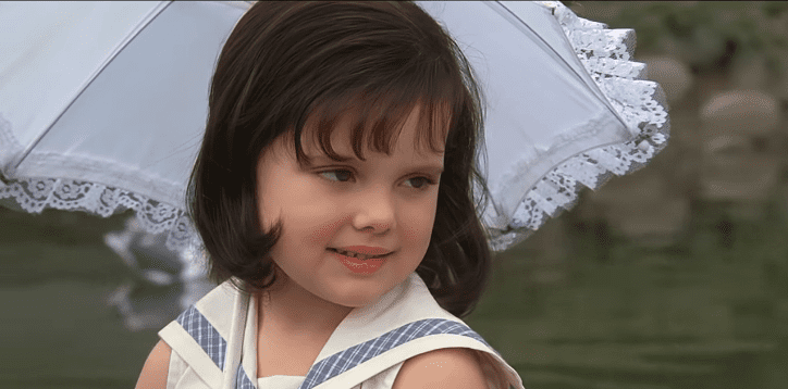 "Brittany Ashton Holmes as Darla in ""Little Rascals"" 
