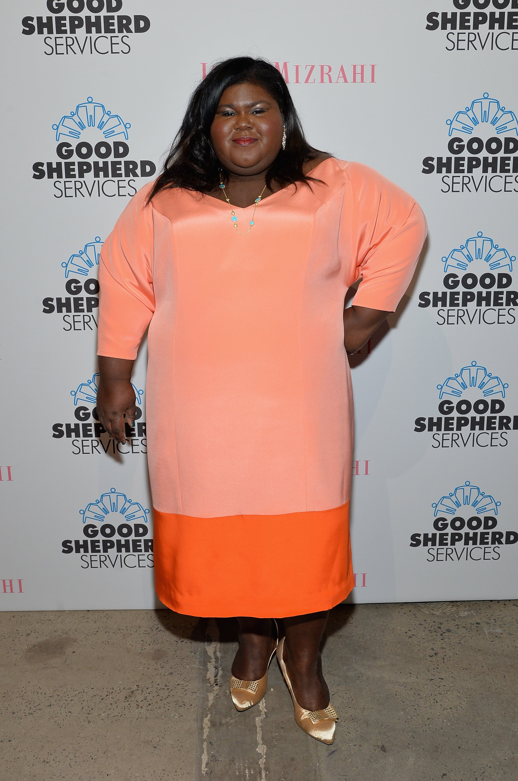 Gabourey Sidibe at the Good Shepherd Services Spring Party in New York City on April 24, 2014 | Photo: Getty Images