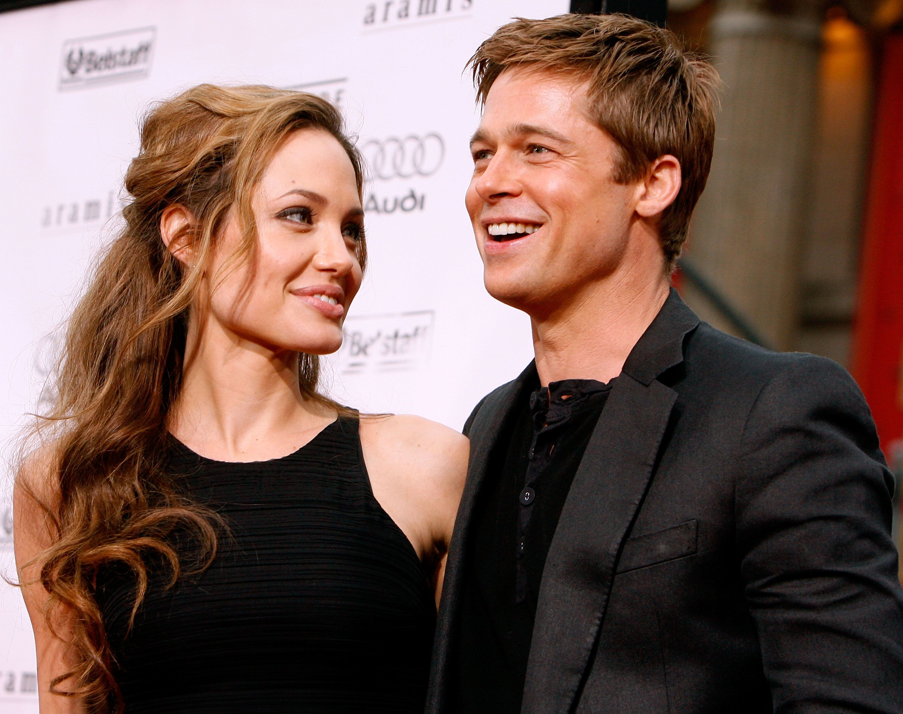 """Angelina Jolie and Brad Pitt during the Warner Bros. premiere of the film """"Ocean's 13"""" at Grauman's Chinese Theatre on June 5, 2007 in Hollywood, California. 