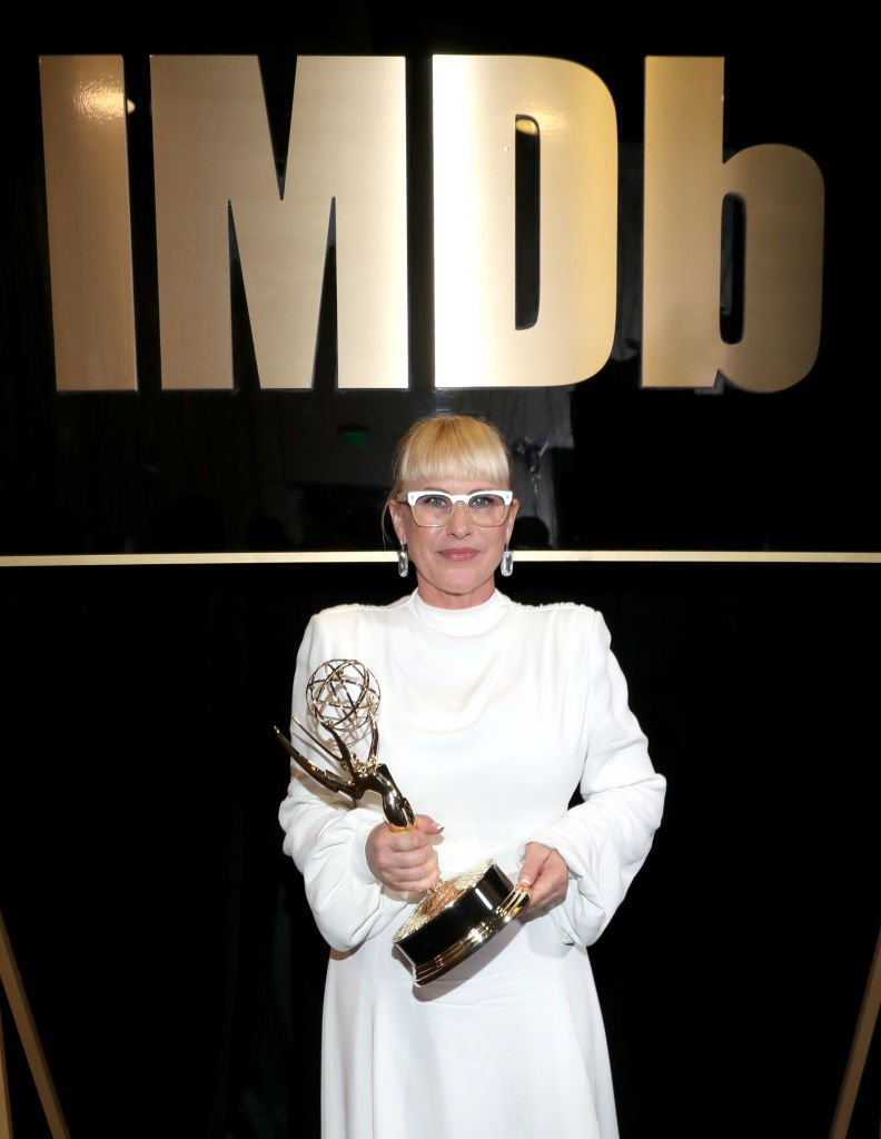 Supporting Actress in a Limited Series or Movie Winner Patricia Arquette attends IMDb LIVE After the Emmys | Getty Images