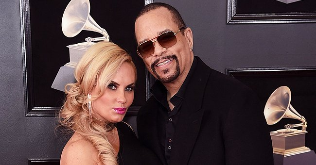Ice-T's Wife Coco Shows off Her Hourglass Figure in Tight Floral Top & Matching Pants in Pics