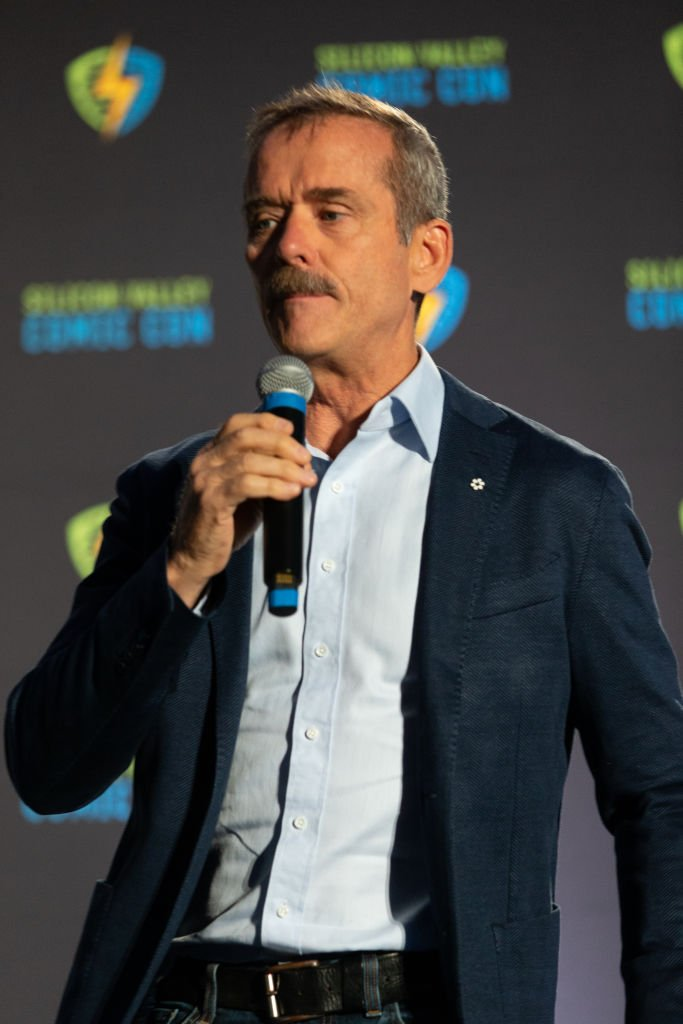Chris Hadfield appears on stage at the Silicon Valley Comic Con at the San Jose Convention Center on August 17, 2019 | Photo: Getty Images