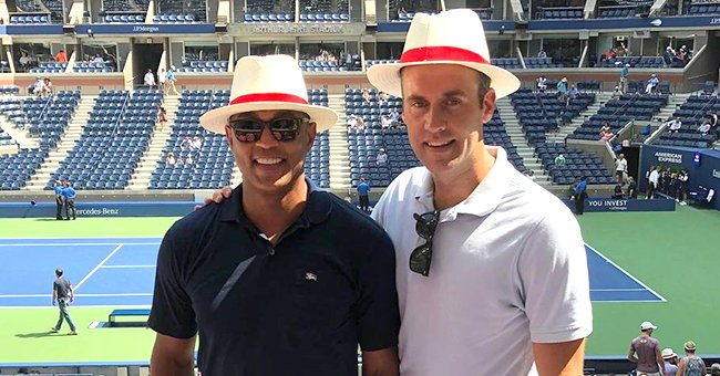 CNN's Don Lemon & Fiancé Tim Malone Wear Matching White Hats in Throwback Snap From the US Open