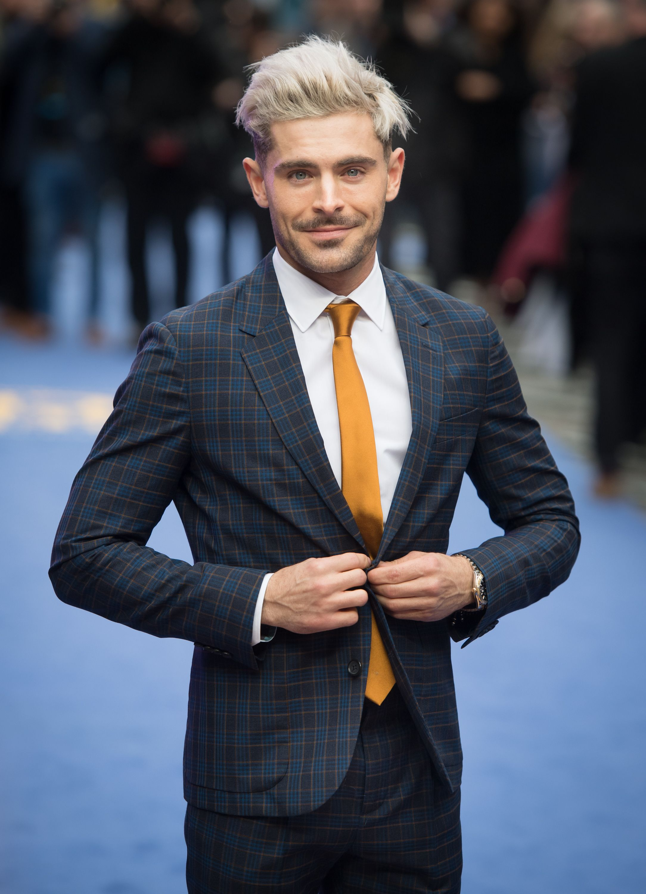 """Zac Efron atthe """"Extremely Wicked, Shockingly Evil and Vile"""" European premiere at The Curzon Mayfair on April 24, 2019, in London, England   Photo:Getty Images"""