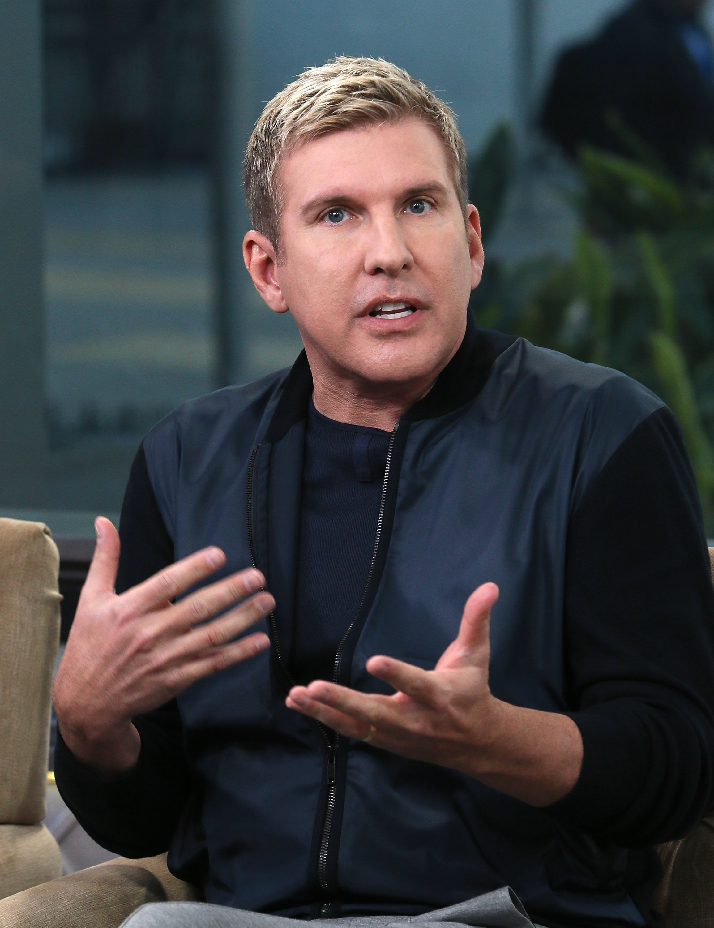 Todd Chrisley visits Hollywood Today Live at W Hollywood on February 24, 2017 in Hollywood, California | Photo: Getty Images