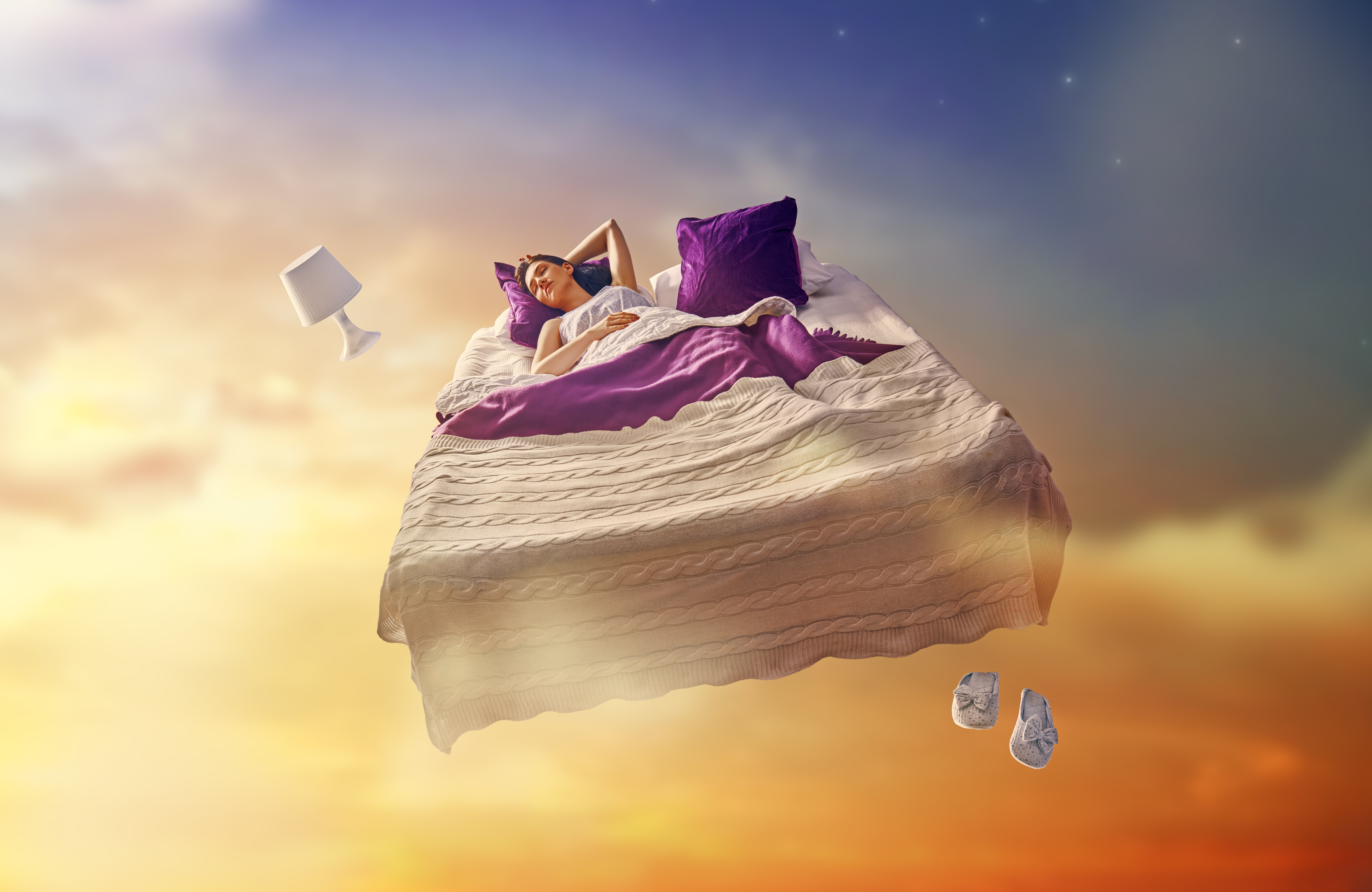 Person dreaming   Source: Shutterstock