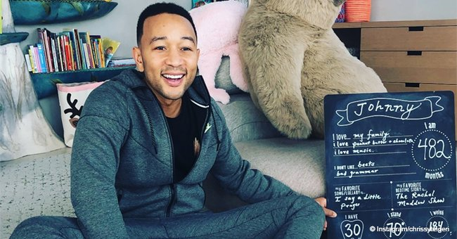 John Legend Turns '482 Months' Old, Wife Chrissy Celebrates Milestone with Adorable Photo