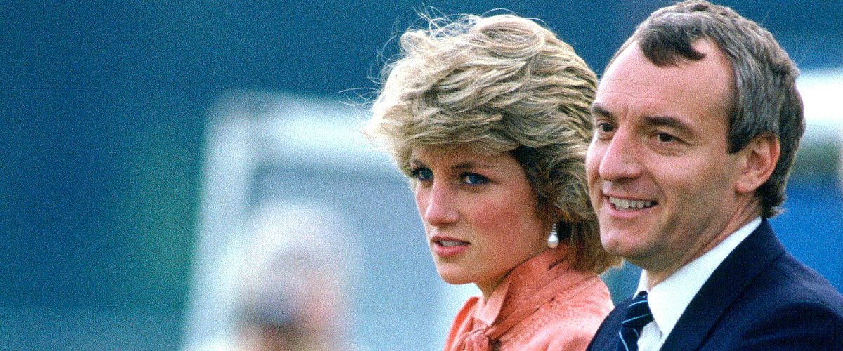 Lady Diana et Barry Mannakee.   Photo : Getty Images