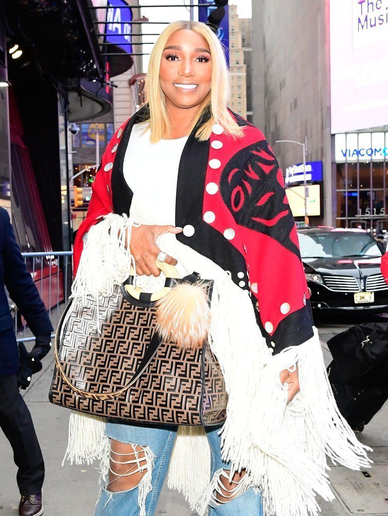 Actress NeNe Leakes is seen outside good morning america | Photo: Getty Images