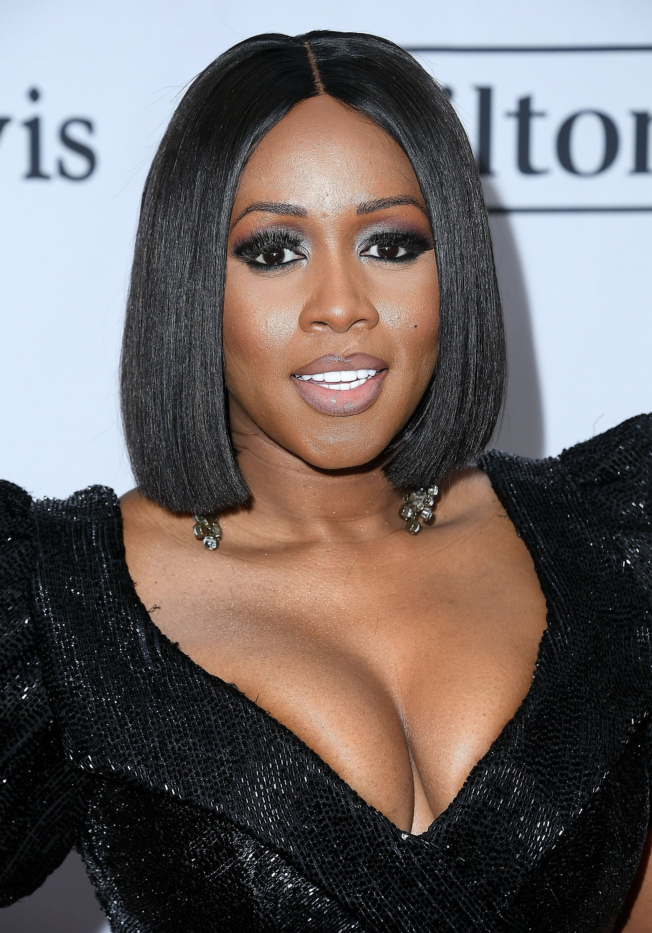 Remy Ma at the Clive Davis and Recording Academy Pre-Grammy Gala on January 27, 2018 in New York City.| Source: Getty Images
