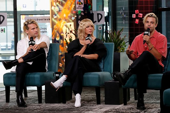 Neil Perry, Kimberly Perry and Neil Perry of The Band Perry at Build Studio on July 26, 2019 in New York City.   Photo: Getty Images