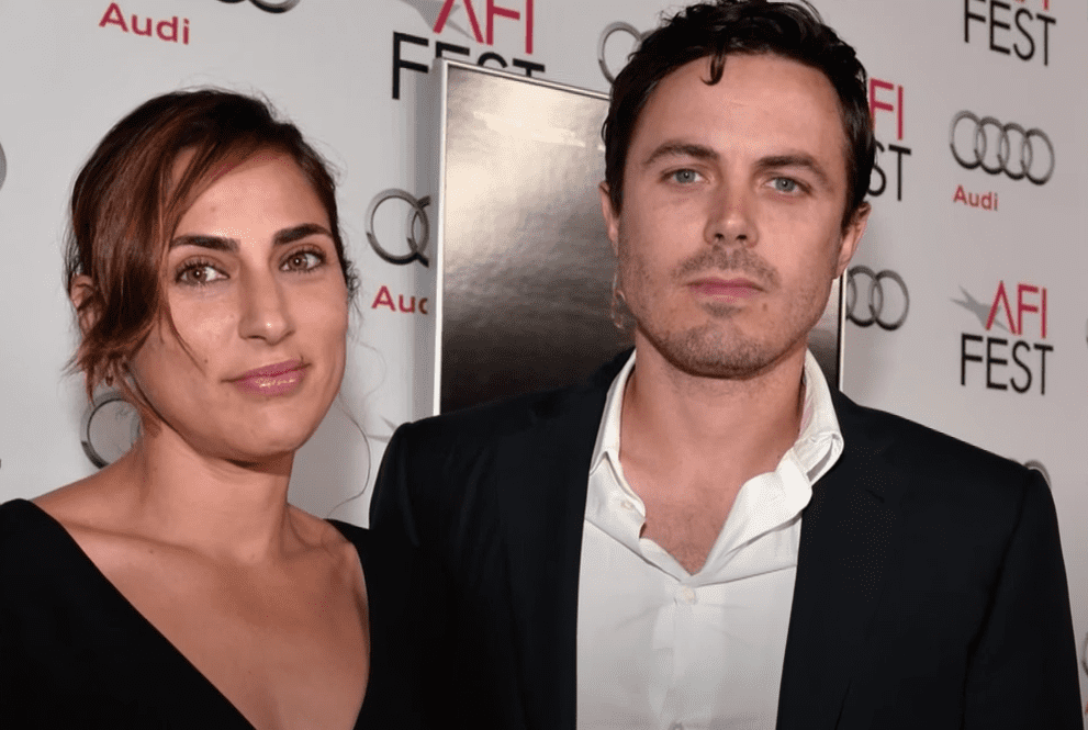 Summer Phoenix and her ex-husband Casey Affleck as pictured by ET when their split was confirmed in 2016. | Image: YouTube/ Entertainment Tonight.