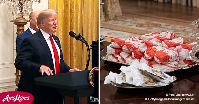 Donald Trump's joke about First Lady 'making salads' sparks outrage