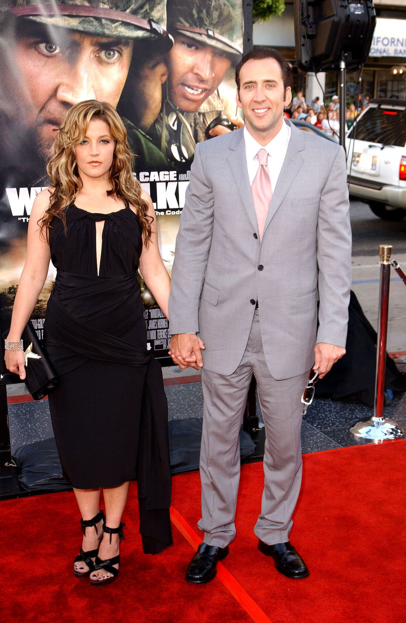 Lisa Marie Presley and Nicolas Cage at Grauman's Chinese Theatre | Photo: Getty Images