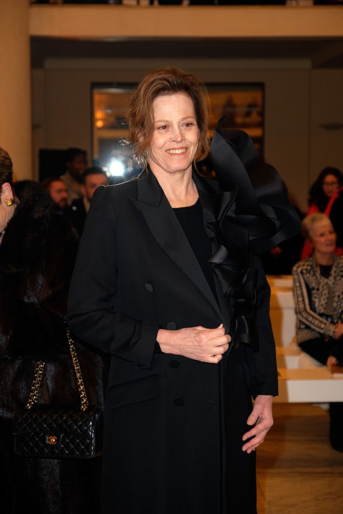 Actress Sigourney Weaver attends the Stephane Rolland Haute Couture Spring Summer 2019 show | Getty Images