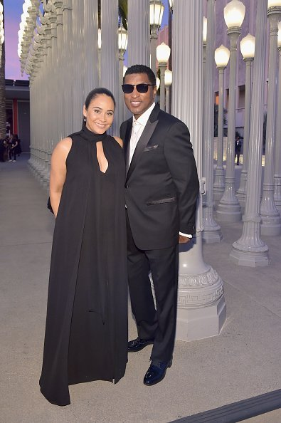Nicole Pantenburg and Kenneth 'Babyface' Edmonds attend 2018 LACMA Art + Film Gala honoring Catherine Opie and Guillermo del Toro presented by Gucci at LACMA on November 3, 2018   Photo: Getty Images