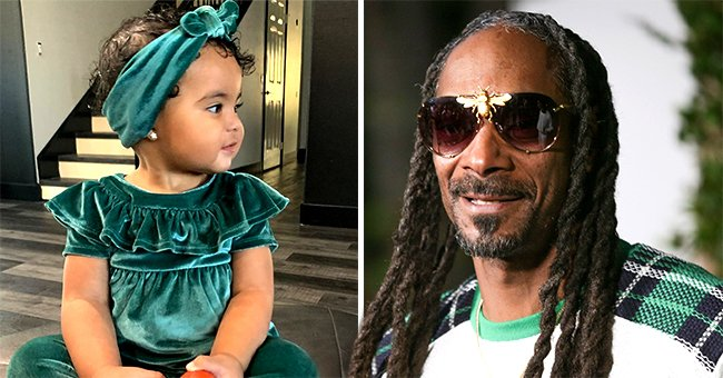Snoop Dogg's Granddaughter Cordoba Looks beyond Adorable While Posing in a Velvet Green Outfit