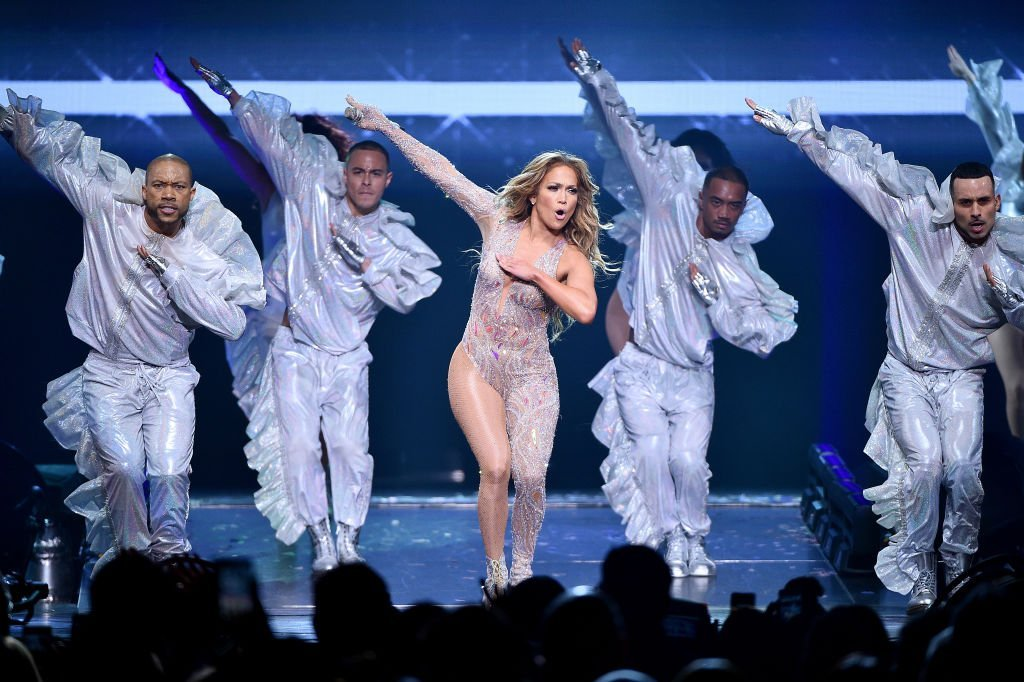 Jennifer Lopez performs onstage during the It's My Party Tour at Madison Square Garden | Photo: Getty Images
