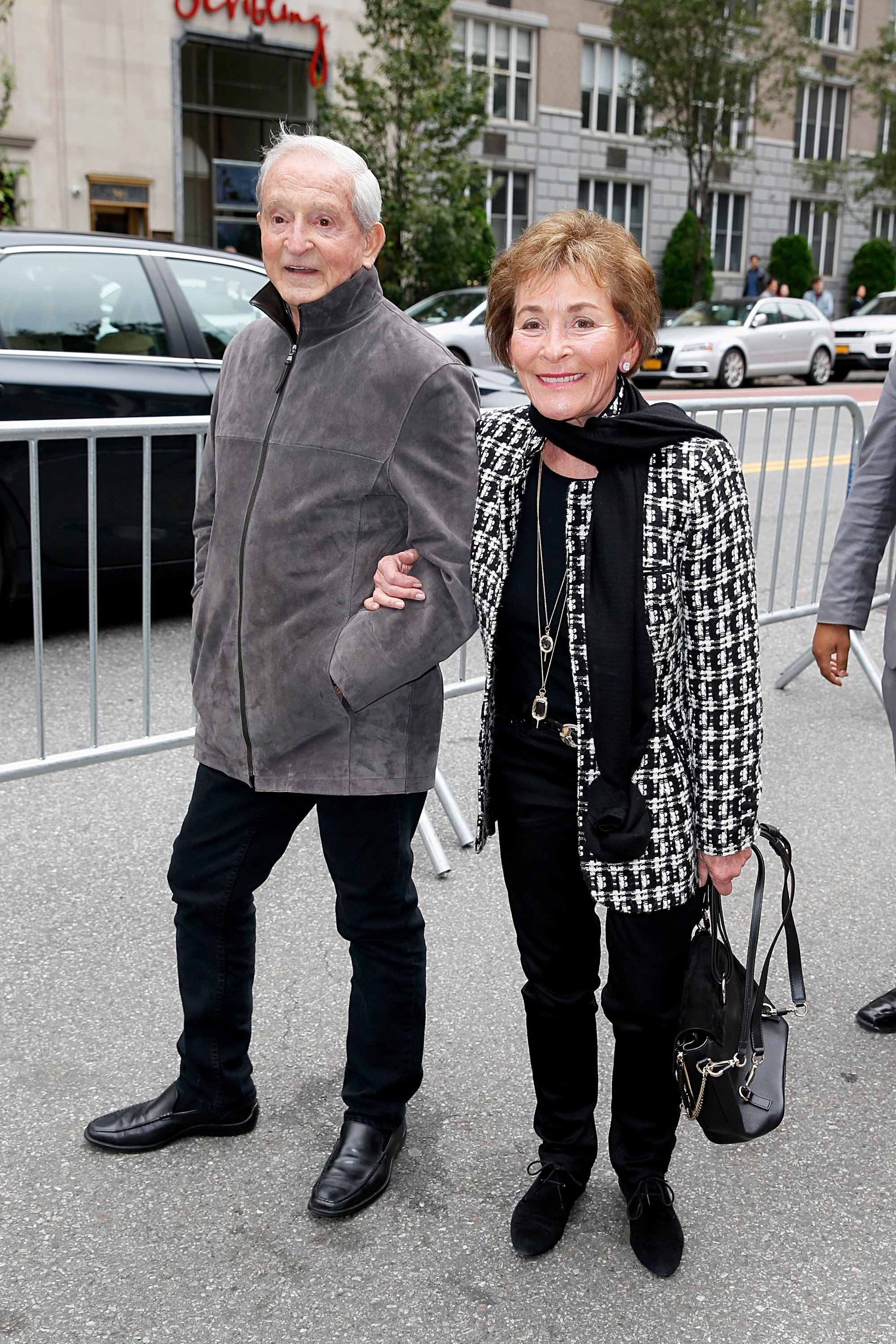 Judge Judy Sheindlin and husband Jerry Sheindlin are photographed in New York City on October 14, 2018 | Photo: Getty Images