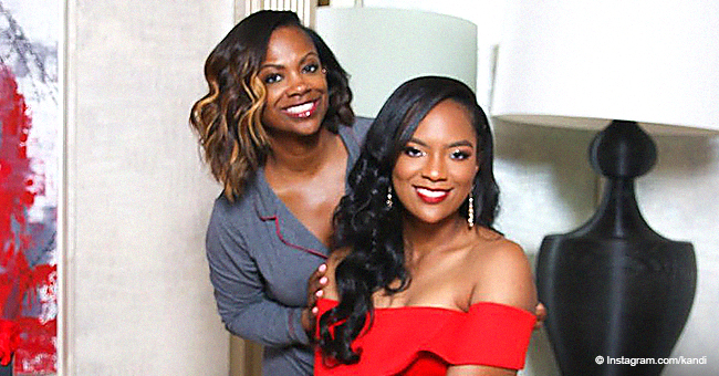 Kandi Burruss Shares Photos of Daughter Riley Looking Stunning in Red Dress on Her Prom Night