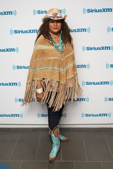 Pam Grier visits the SiriusXM Studios | Photo: Getty Images