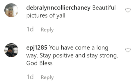 More fan comments on Lyssa's post | Instagram: @mslyssac