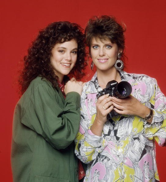 Pam Dawber and Rebecca | Photo: Getty Images