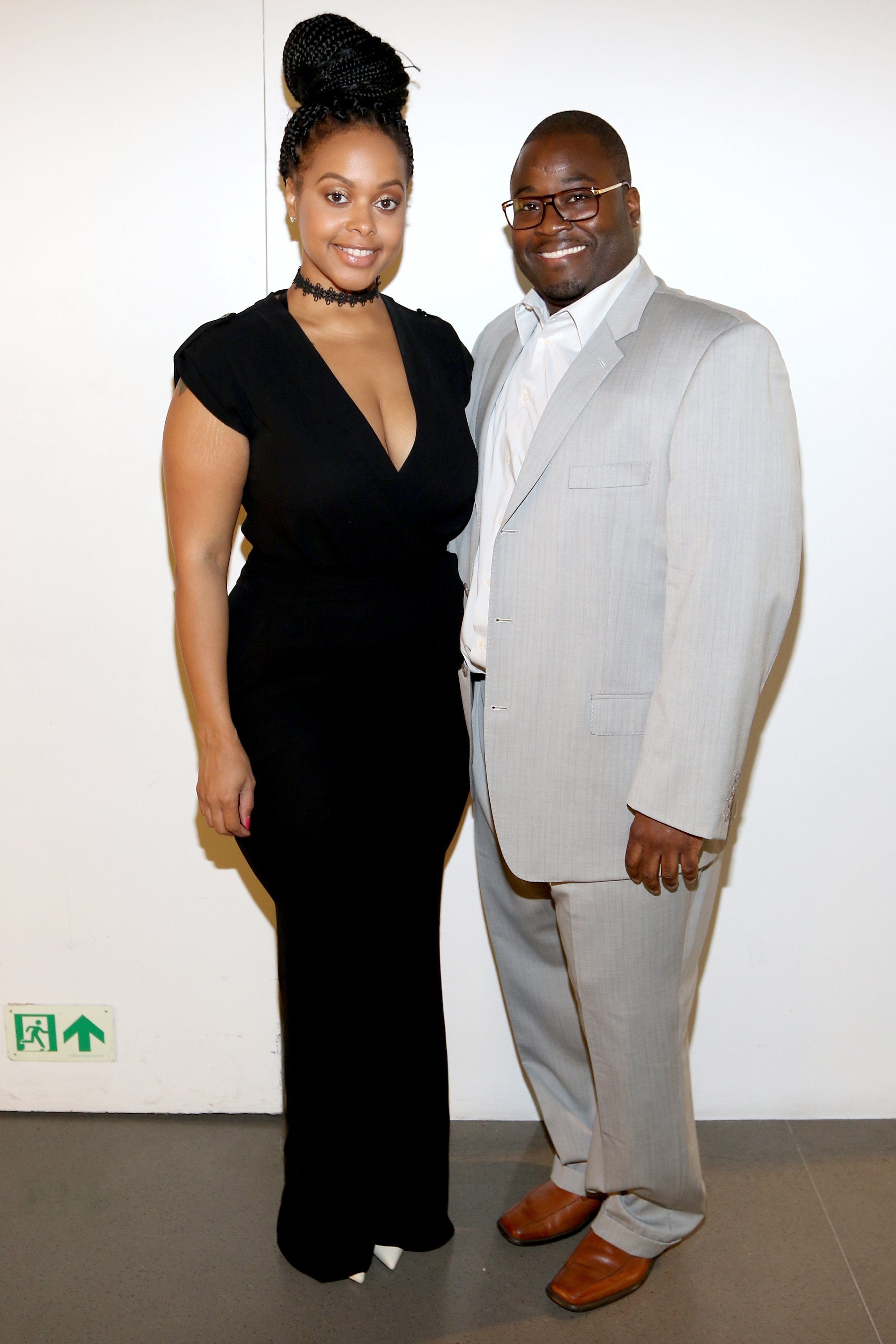 Dr. Nicholas Stapleton and Chrisette Michele attend the Academy Charter School Art Auction Fundraiser, June 2017. | Photo: GettyImages/Global Images of Ukraine